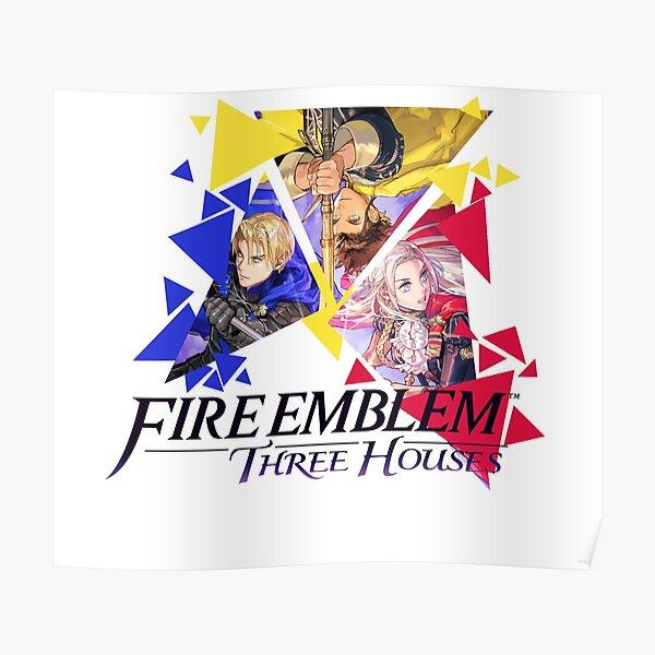 Fire Emblem Three Houses - Edelgard, Dimitri, Claude Poster