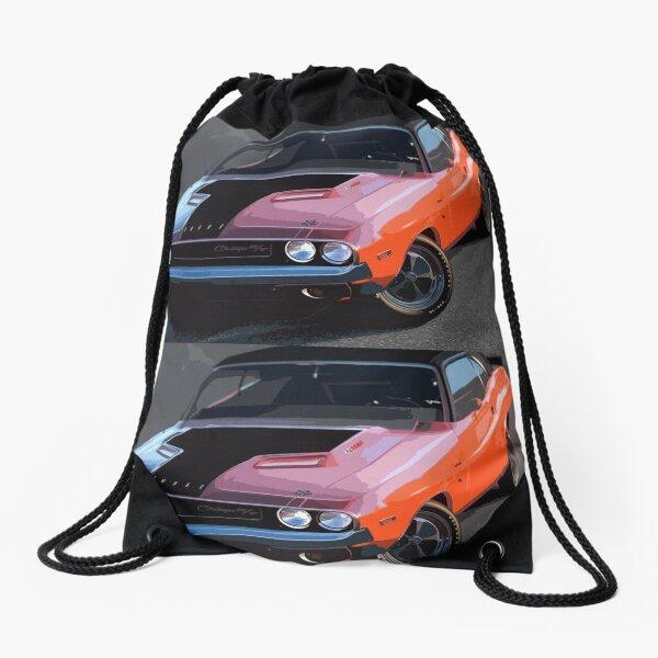 Dodge Challenger Drawstring Bag