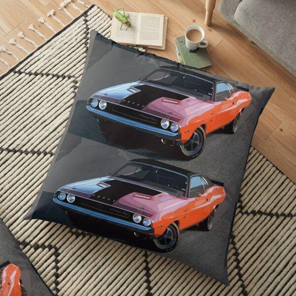 Dodge Challenger Floor Pillow