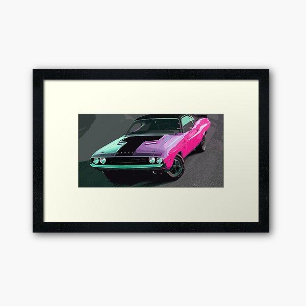 Dodge Challenger Framed Art Print