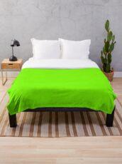 Farbe Rasen grün Fleecedecke