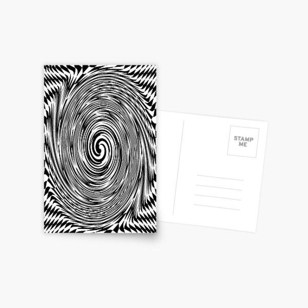 #Optical #Checker #Illusion #Pattern, design, chess, abstract, grid, square, checkerboard, illusion Postcard