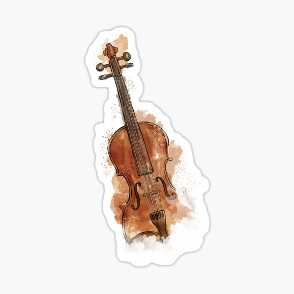 violin Sticker