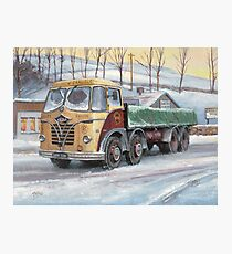 Foden S20 at the Jungle cafe Photographic Print