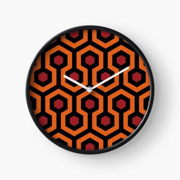 Overlook pattern Clock