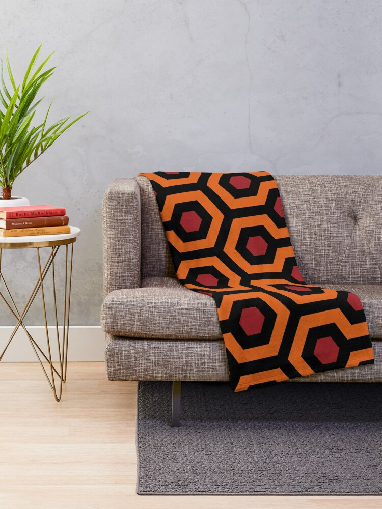Alternate view of Overlook pattern Throw Blanket