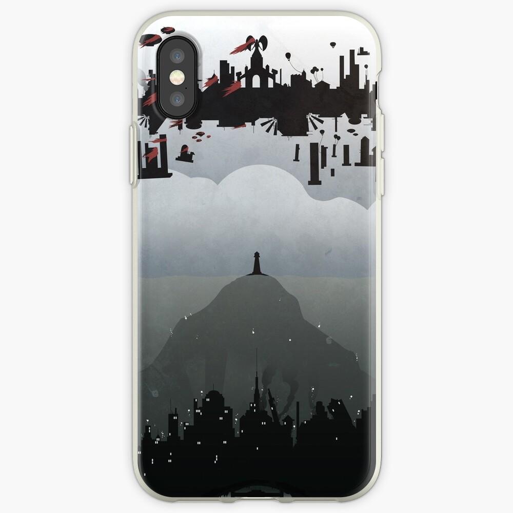 Bioshock - 2 Welten iPhone-Hülle & Cover