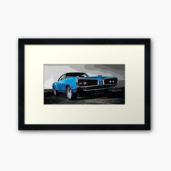 Dodge Super Bee Framed Art Print