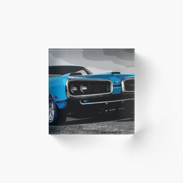 Dodge Super Bee Acrylic Block
