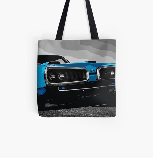 Dodge Super Bee All Over Print Tote Bag