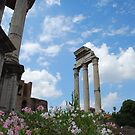 A flower in the Forum by kczpics