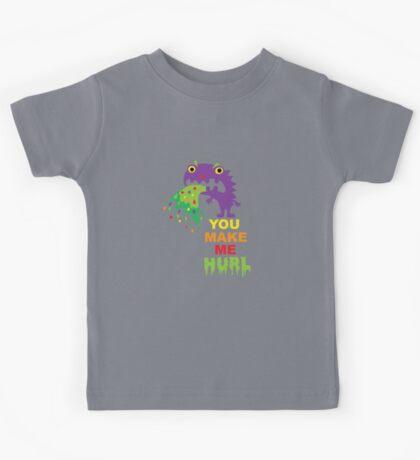 You Make Me Hurl - on darks Kids Clothes