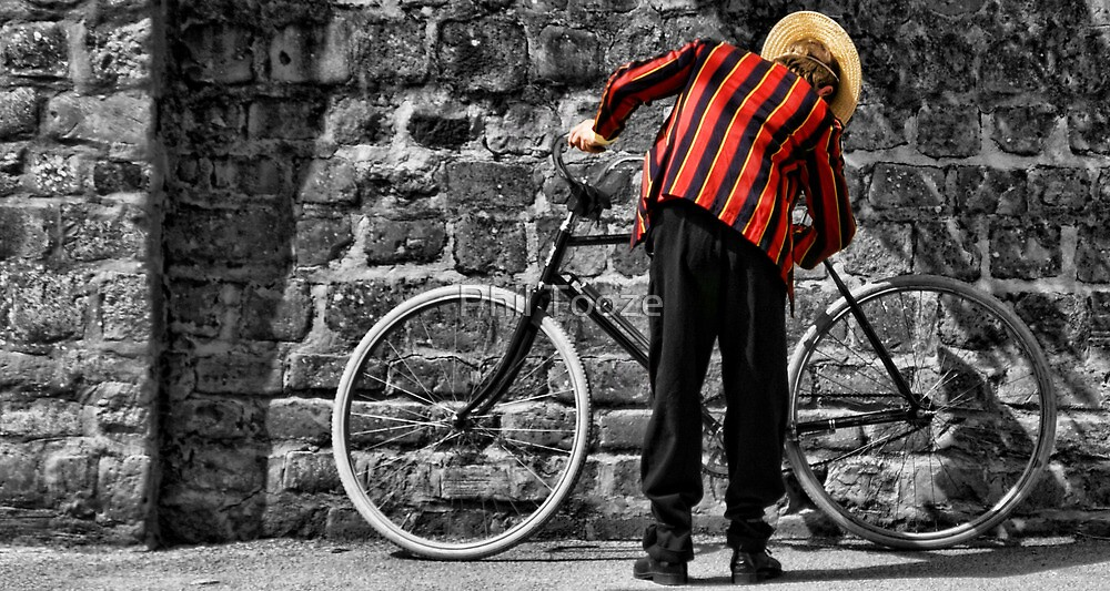 One man & his bike by riotphoto