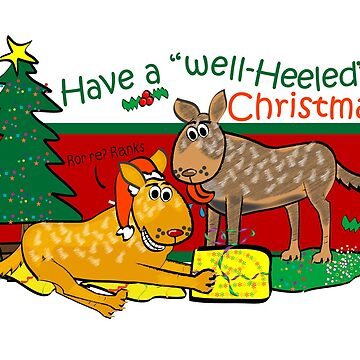 Have a Well Heeled Christmas! by Khanagirl