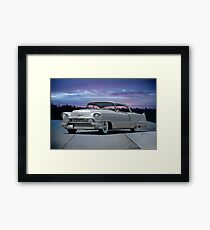 1955 Cadillac Coupe DeVille Framed Print