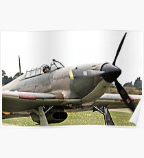 Taxiing Hurricane Poster