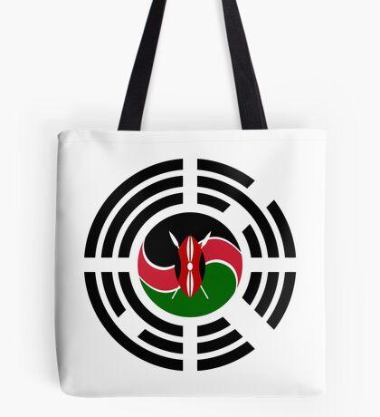Kenyan Korean Multinational Patriot Flag Series Tote Bag