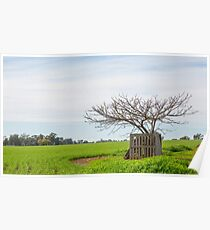 Digital Oil....Tree Poster