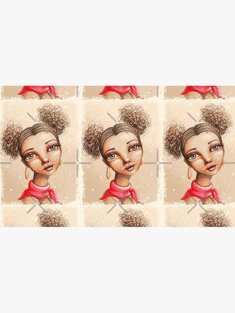 Curly Buns by LittleMissTyne