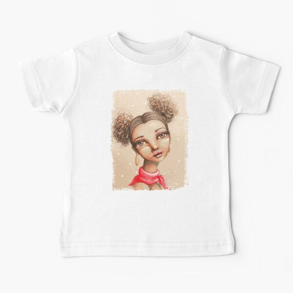 Curly Buns Baby T-Shirt
