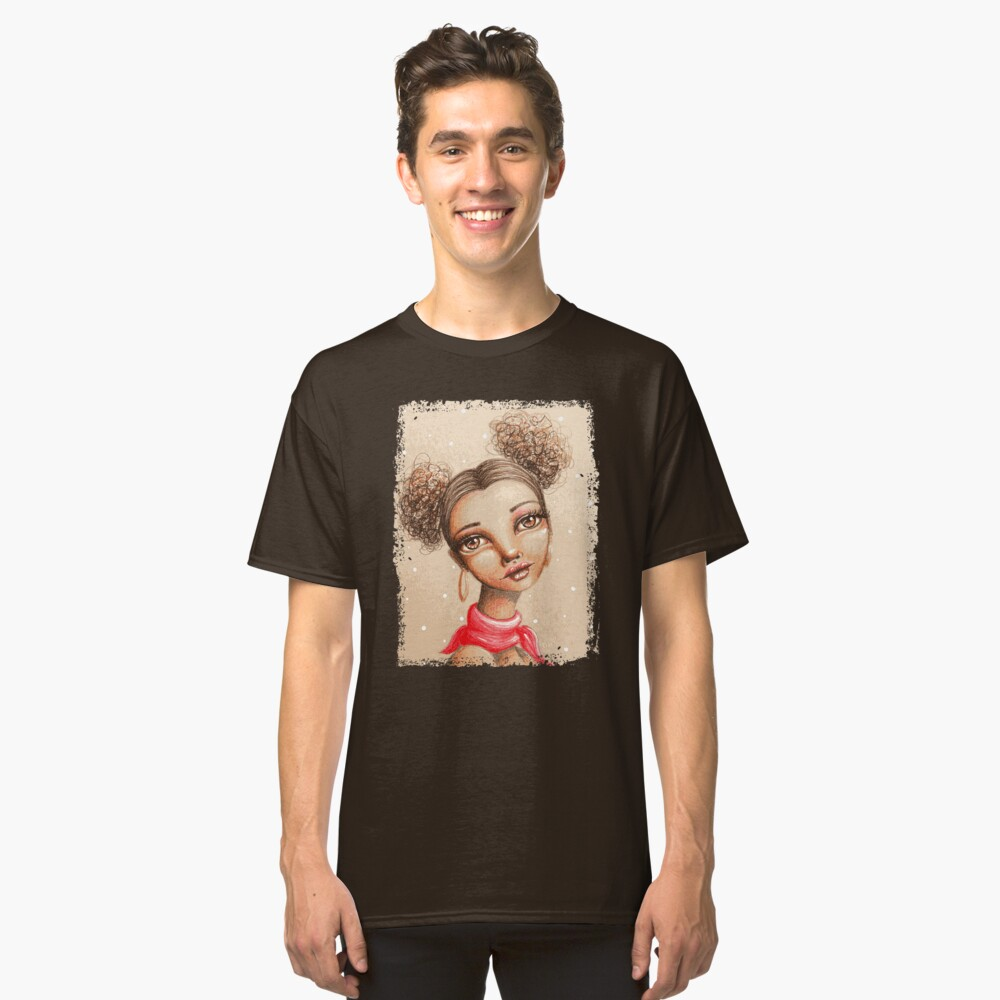 Curly Buns Classic T-Shirt