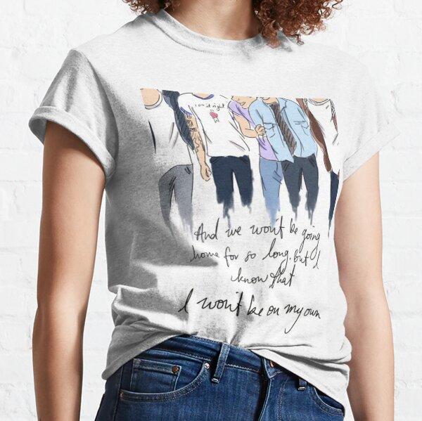 une direction T-shirt classique