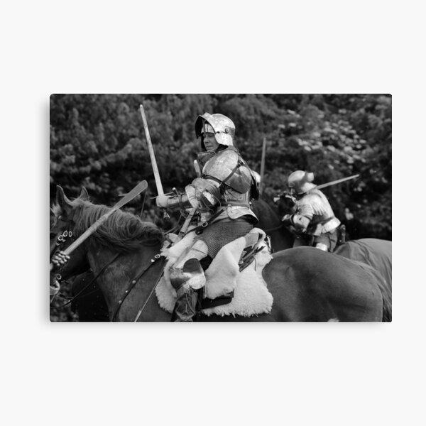 Mounted Combat Canvas Print