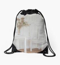 The White Room Drawstring Bag