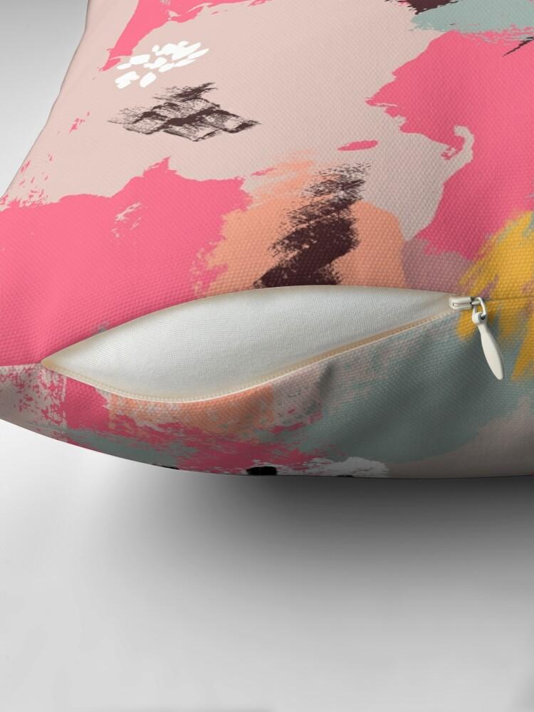 Alternate view of Modern Art Throw Pillow