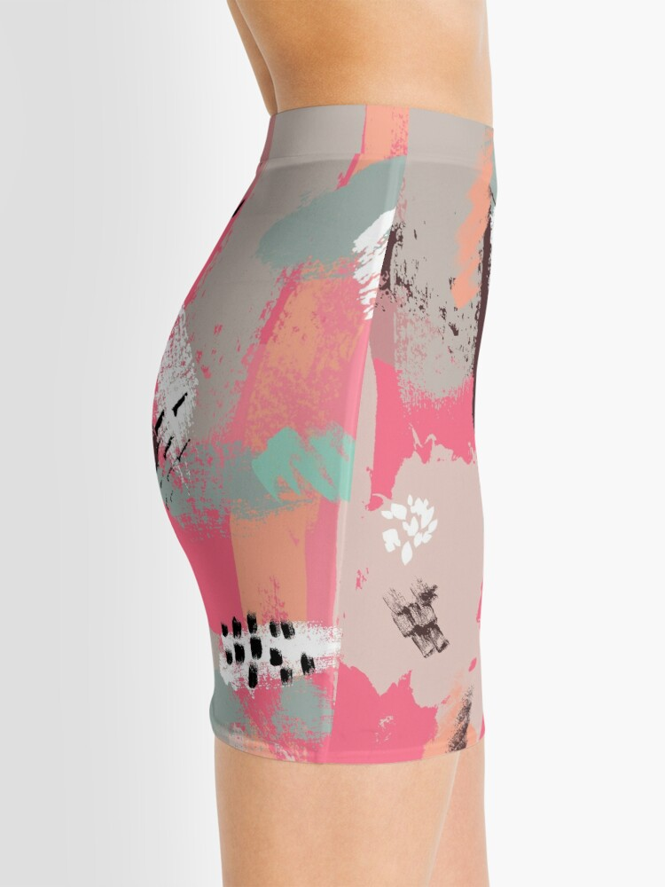 Alternate view of Modern Art Mini Skirt