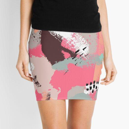 Modern Art Mini Skirt