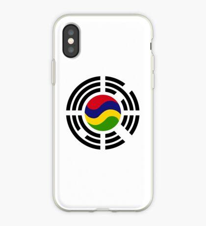 Mauritian Korean Multinational Patriot Flag Series iPhone Case