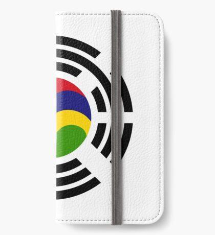 Mauritian Korean Multinational Patriot Flag Series iPhone Wallet