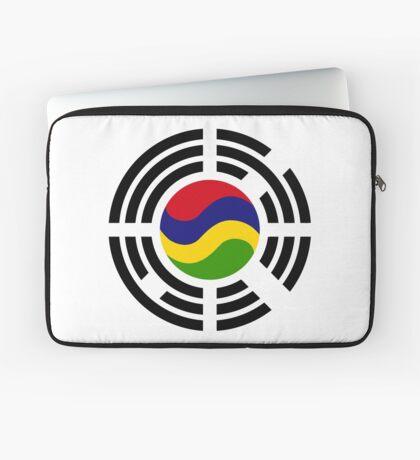 Mauritian Korean Multinational Patriot Flag Series Laptop Sleeve
