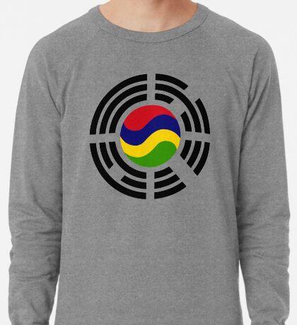 Mauritian Korean Multinational Patriot Flag Series Lightweight Sweatshirt