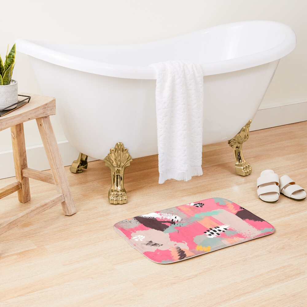 Modern Art Bath Mat