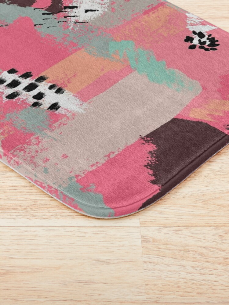 Alternate view of Modern Art Bath Mat