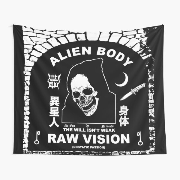 Raw Vision Tapestry