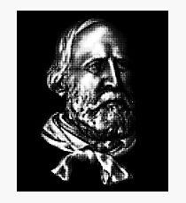 Giuseppe Garibaldi, portrait Photographic Print