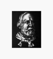 Giuseppe Garibaldi, portrait Art Board Print