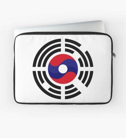 Lao Korean Multinational Patriot Flag Series Laptop Sleeve