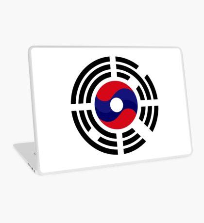 Lao Korean Multinational Patriot Flag Series Laptop Skin