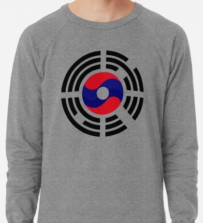 Lao Korean Multinational Patriot Flag Series Lightweight Sweatshirt