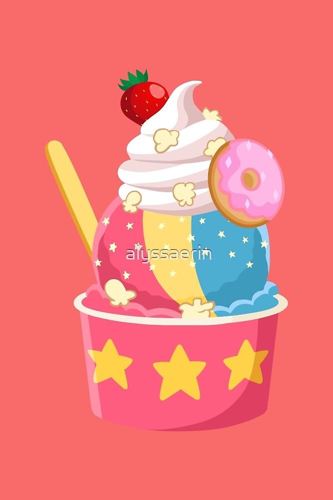 Universe Ice Cream - Steven by alyssaerin