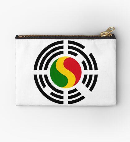 Korean Mali Multinational Patriot Flag Series Zipper Pouch