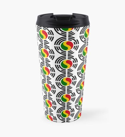 Korean Mali Multinational Patriot Flag Series Travel Mug