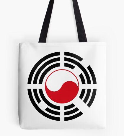 Polish Korean Multinational Patriot Flag Series Tote Bag