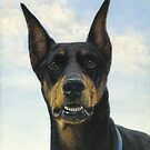 Doberman Pinscher by johnartist