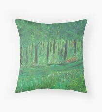 an other pathway Throw Pillow