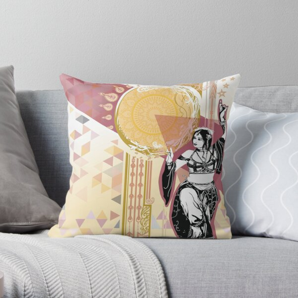 Bollywood danseuse indienne Coussin